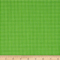 Andover/Makower Fruity Friends Gingham Green