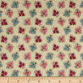 Andover Maling Road Oak Leaves Blue/Red