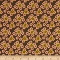 Andover Maling Road Flower s Brown