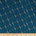 Andover/Makower Sundance Flame Stripe Blue