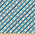QT Fabrics Thomas Railroad Stripe Multi