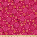 Ink & Arrow Aziza Dotted Circles Azalea