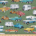 QT Fabrics Dan Morris Backcountry RVs Green