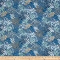 Andover/Makower UK Beachcomber Coral Blue