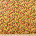 QT Fabrics Marlena Swirls Yellow