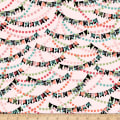 QT Fabrics Piece Of Cake Banners Pink
