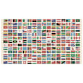 "QT Fabrics Wanderlust Flags Of The World 24"" Panel Multi"