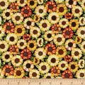 Andover/Makower UK Good Life Sunflower Multi