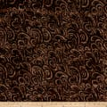 Timeless Treasures Tonga Batik Boathouse Waves Fudge