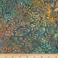 Timeless Treasures Tonga Batik Poppy Herb Fiji