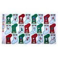 "Andover/Makower Jolly Santa Stocking Advent 24"" Panel Multi"