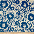 Sunbrella Outdoor Andy Exclusive Floral Jacquard Cobalt