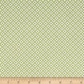 Riley Blake Summer Blush Circle Green
