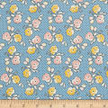 Riley Blake Lemonade Sundae Floral Blue