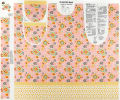 "Lemonade Sundae 44"" Apron Panel Pink"