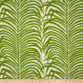 Schumacher Indoor/Outdoor Zebra Palm Leaf