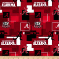 NCAA University Of  Alabama Crimson Tide Blocks Allover