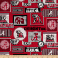 NCAA University Of Alabama Crimson Tide Packed Patches