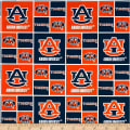 NCAA Auburn University Tigers Box Logos Allover