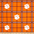 NCAA University of Clemson Tigers Flannel Plaid