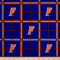NCAA University of Florida Gators Flannel Plaid