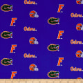NCAA University of Florida Herringbone Allover