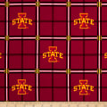 NCAA Iowa State Cyclones Flannel Plaid Red