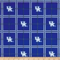 NCAA University of Kentucky Wildcats Flannel Plaid Blue