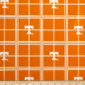 NCAA University of Tennessee Volunteers Flannel Plaid Orange