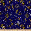NCAA University of West Virginia Bandana Prints Blue