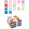 Riley Blake Simply Happy Fat Quarter Bundle 18 Pcs Multi