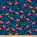 Made In The USA II Flags and Stars Red/White/Blue