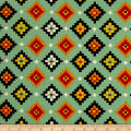 Navajo Multi Bright Green