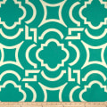 Richloom Carmody Exclusive Geometric Basketweave Turquoise