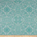 Richloom Tienchi Exclusive Medallions Basketweave Turquoise
