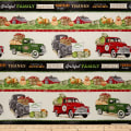 Farmers Market Striped Novelty Cream