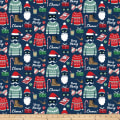 Fa La La! Christmas Sweaters Navy