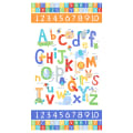 "Northcott Alphabet Soup Animal ABCs 43"" Panel White"