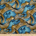 Trans-Pacific Textiles Endless Surfer Aqua