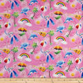 Trans-Pacific Textiles Keiki Fun in the Sun Pink