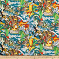 Trans-Pacific Textiles Anime Manga Mania Teal