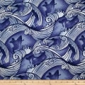 Trans-Pacific Textiles Endless Surfer Blue