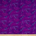 QT Fabrics Basics Ombre Scroll Blender Grape