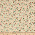 QT Fabrics Antiquities Bethel Packed Mini Floral Dark Cream