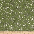 QT Fabrics Antiquities Stafford Mini Floral Olive