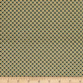 QT Fabrics Antiquities Stafford Diamond Plaid Olive
