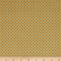 QT Fabrics Antiquities Stafford Diamond Plaid Gold