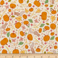 Penny Rose Calico Crow Pumpkin Cream