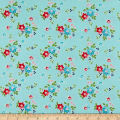 Riley Blake Seaside Floral Aqua