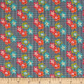 Penny Rose Floral Hues Lawn Bouquet Gray
